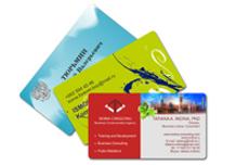Преимущества пластиковых визиток