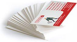 Изготовить визитки