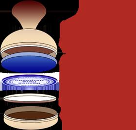 Схема заправки красконаполненных печатей