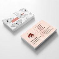 Варианты разработки визиток